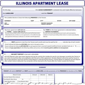 Illinois lease illinois apartment lease platinumwayz