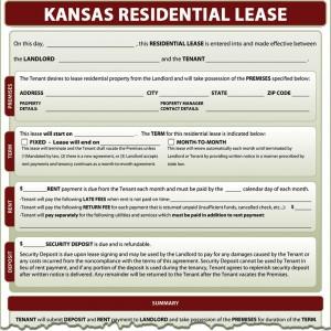 Kansas Residential Lease Simplifyem Com