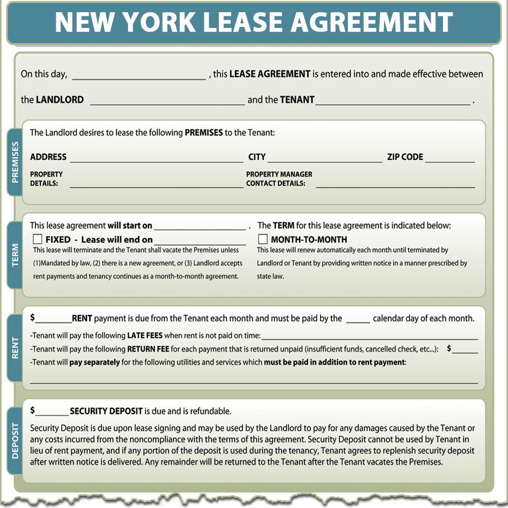 New York Lease Agreement